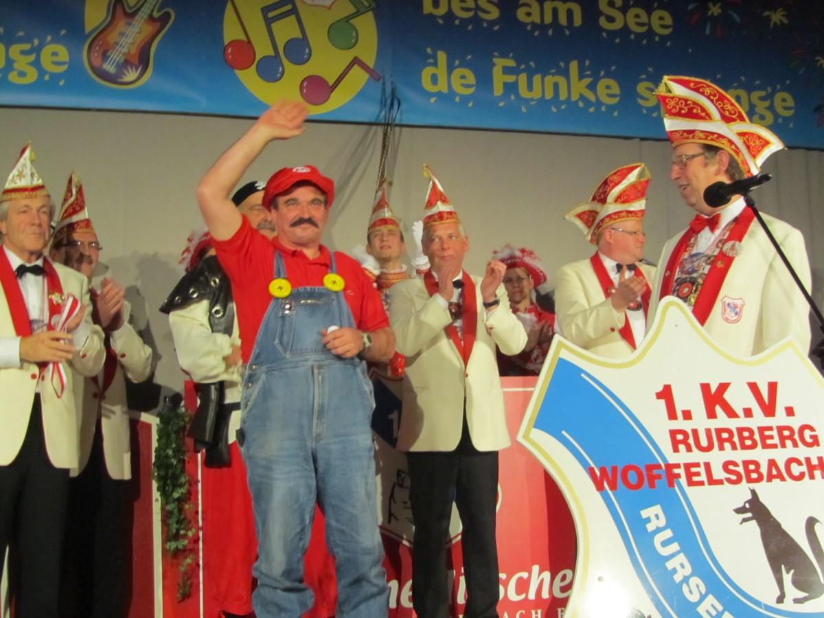 Helmut Prickartz Träger des Rurseeordens
