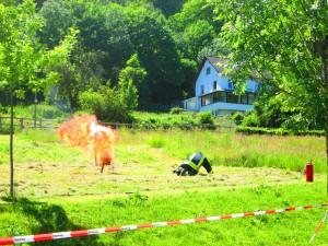 2015_06_14 Feuerwehrfest Feuer