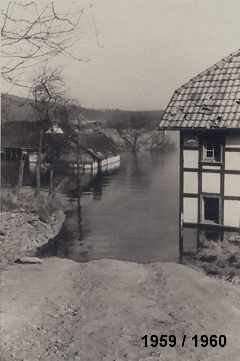 2016_04_30 historisches Bild 1959 : 1960 nach der Aufstockung