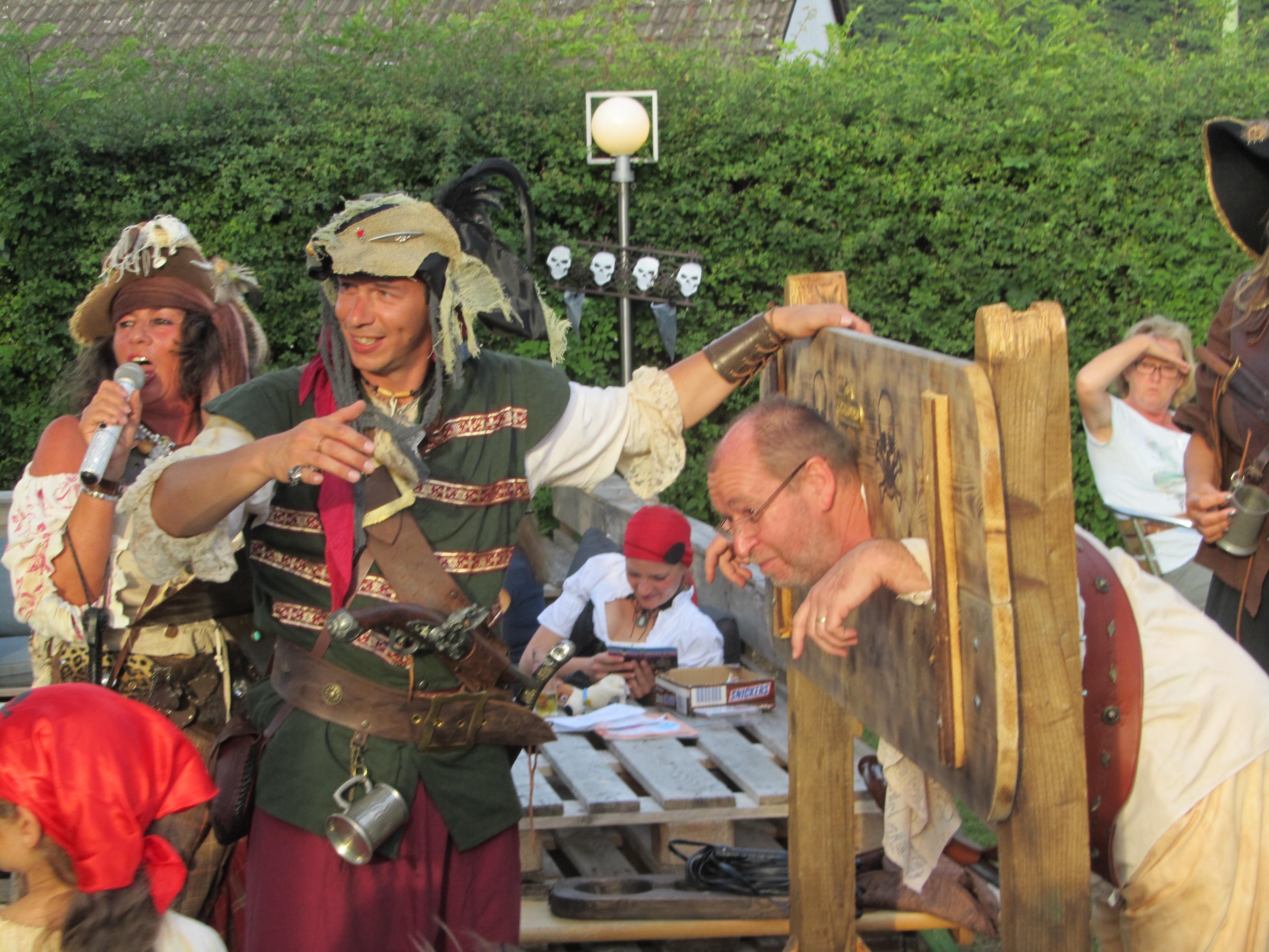Piraten-Taufe